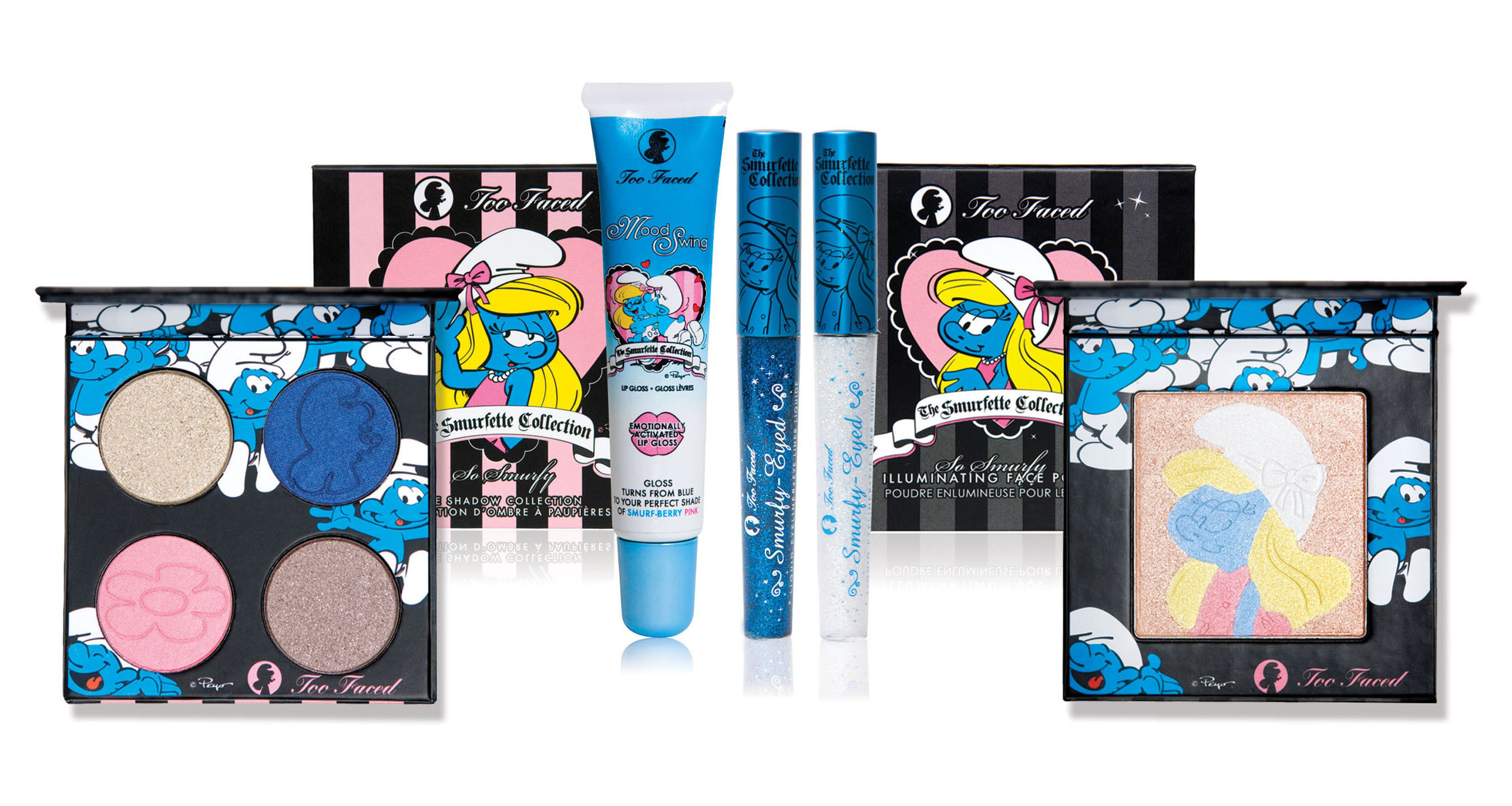TOO FACED COSMETICS SMURFETTE COLLECTION