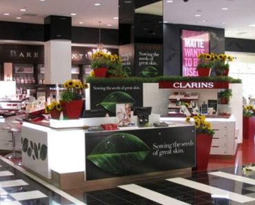 Clarins at Bloomingdales
