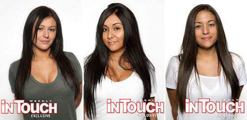 There was no actual nudity…!!!!Wow…this Snooki girl has really taken off!