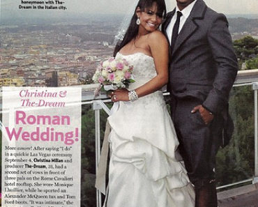 Christina Milian Wedding pic