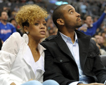 Rihanna and Matt Kemp