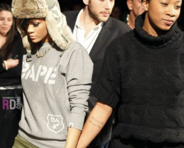 Rihanna and Melissa