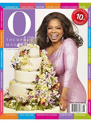 Oprah's O Mag Cover