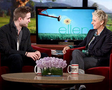 Pattinson on Ellen