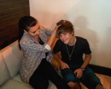 Kim K. and Justin