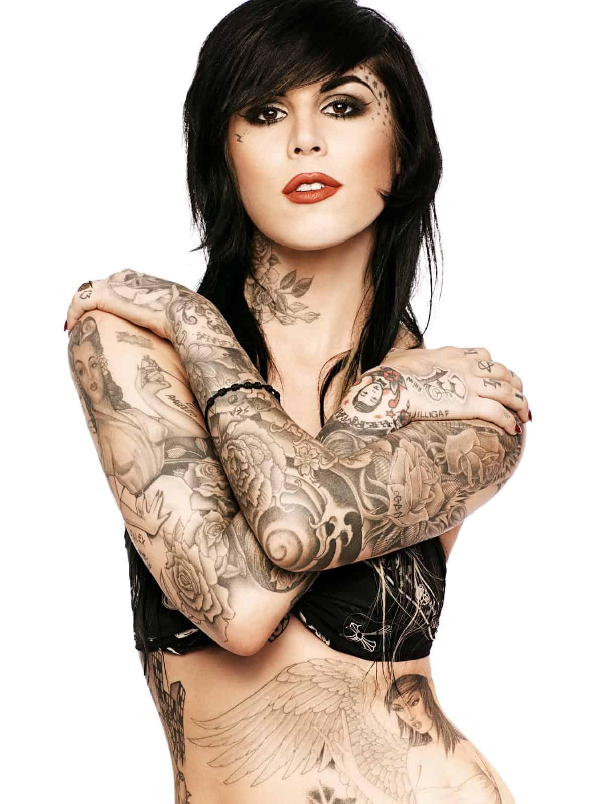 her Jesse James tattoo or