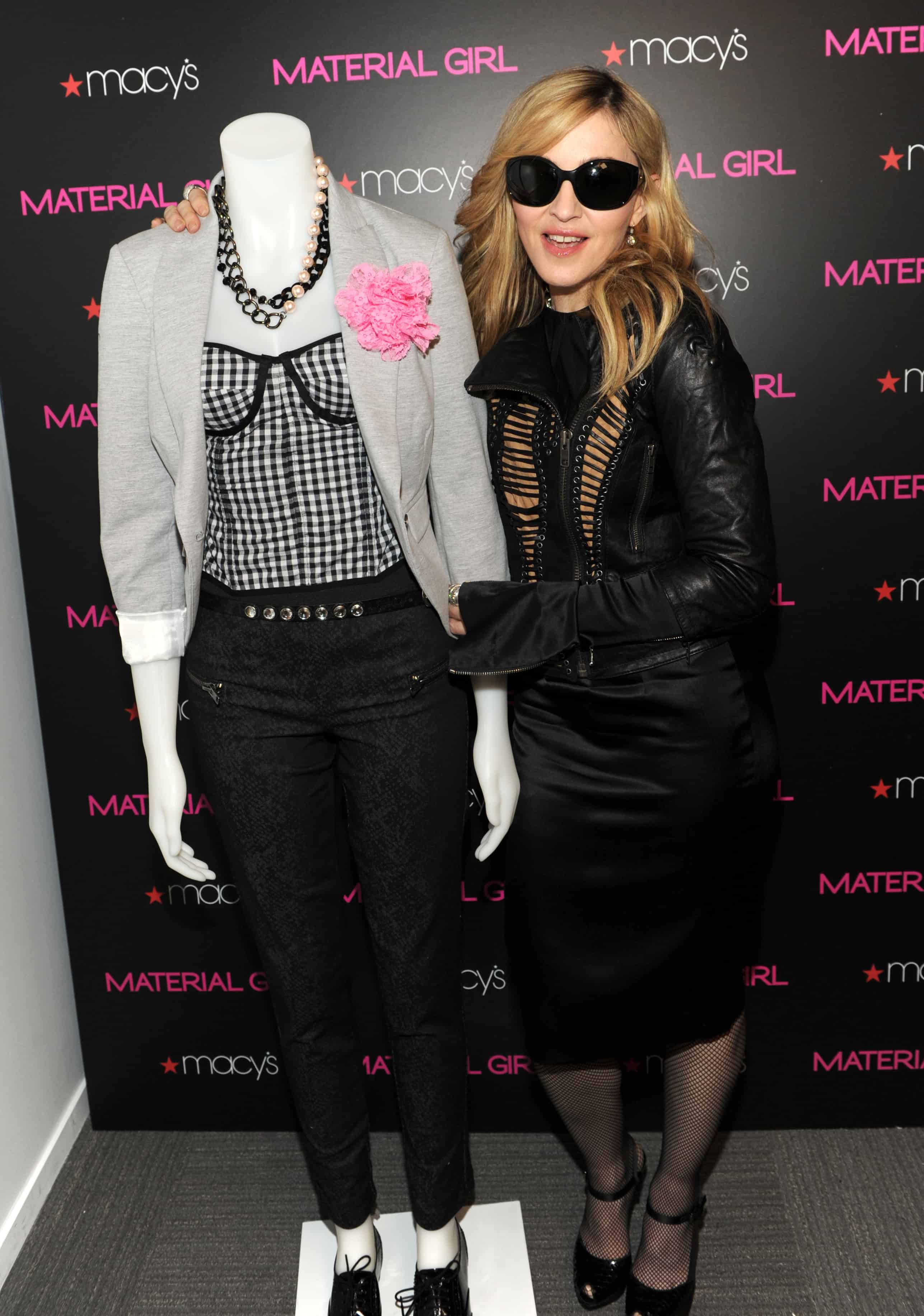 Sneak Peek Check Out Lourdes And Madonna's Sketches For MaterialGirl' advise