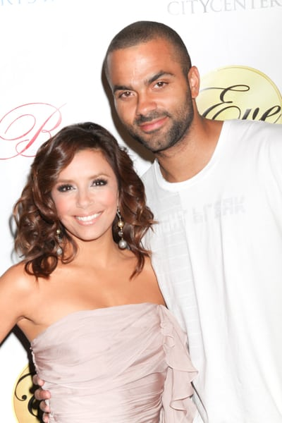 When Eva Longoria married Tony Parker she tattooed the date on her