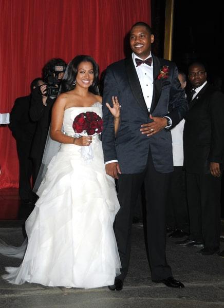 Celeb Wedding Weekend: LaLa Vasquez & Carmelo Anthony, Carrie ...