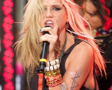"""Ke$ha in Concert on NBC's """"Today Show"""" - August 13, 2010"""