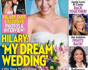 Hilary Duff on OK