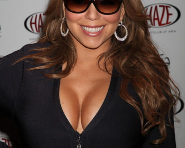 Mariah Carey Hosts the Official End of Tour Party at Haze Nightclub in Las Vegas on February 27, 2010