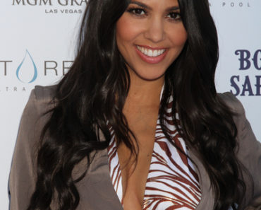 Kourtney Kardashian's 31st Birthday Celebration Hosted by Bombay Sapphire at Wet Republic in Las Vegas on April 24, 2010