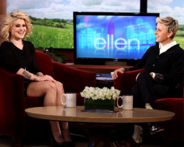 Kelly on Ellen