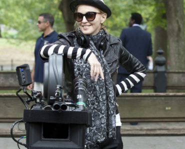 """W.E."" Filming in Central Park in New York City on September 17, 2010"