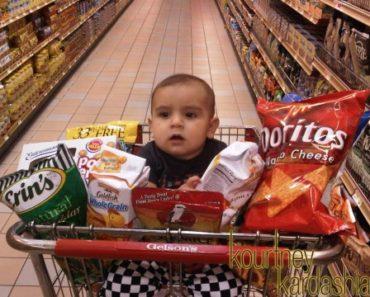 Mason's 1st Supermarket Trip
