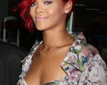 Rihanna Signs Copies Of Her Book 'The Last Girl On Earth'