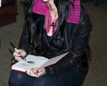 "Kat Von D's ""The Tattoo Chronicles"" Book Signing at Barnes & Noble in New York City on October 26, 2010"