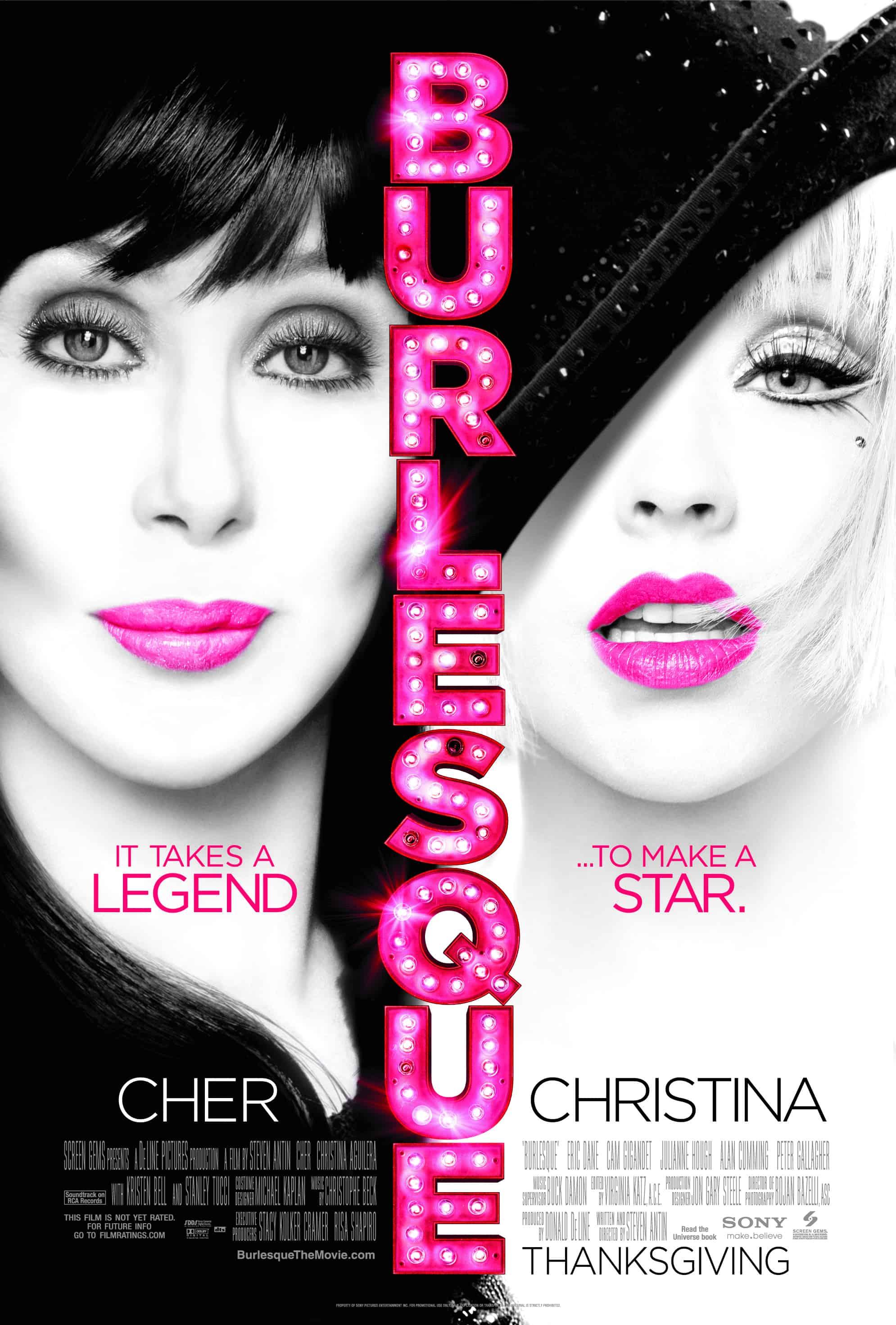 How To Get Christina Aguileras Glittery Burlesque Eye Makeup