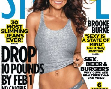 Brooke Burke on SHAPE