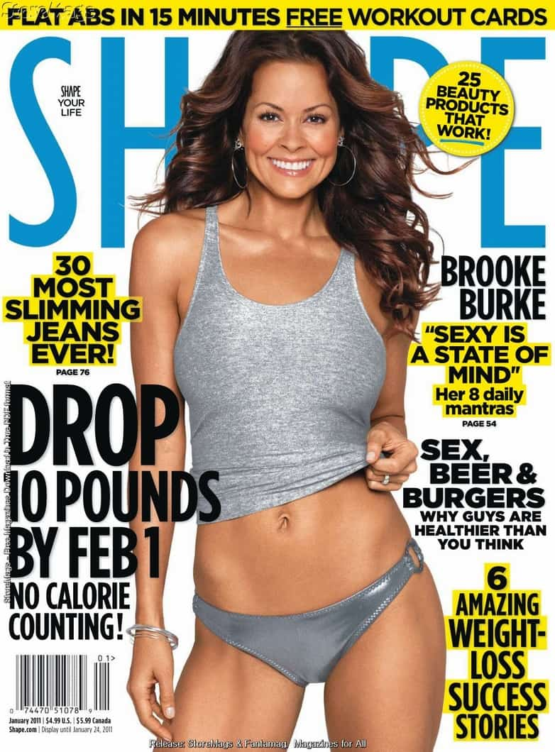 e846f9751e Brooke Burke Shows Off Amazing Body on