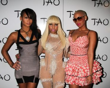 Nicki Minaj 26th Birthday Celebration at Tao in Las Vegas on December 9, 2010