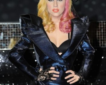 Lady Gaga Wax Figure Unveiling at Madame Tussauds in Berlin on December 8, 2010