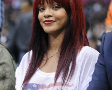 Rihanna is Courtside at the Clippers vs Heat Game