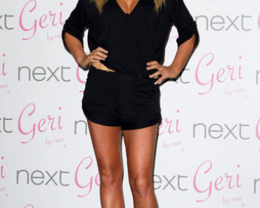 Geri Halliwell Swimwear Line for Next Launch at the Savoy in London on January 28, 2011