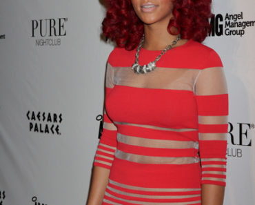 Rihanna Hosts New Year's Eve 2011 Party at Pure Nightclub Las Vegas on December 31, 2010