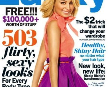 Nicole Richie Lucky Mag