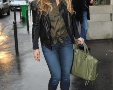 Hilary Duff Chic in Paris