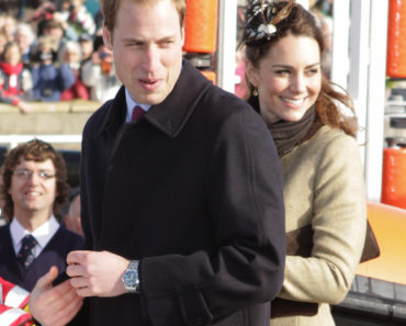 Prince William and Fiancee Kate Middleton Visit a Royal National Lifeboat Institution Lifeboat Station at Trearddur Bay on February 24, 2011