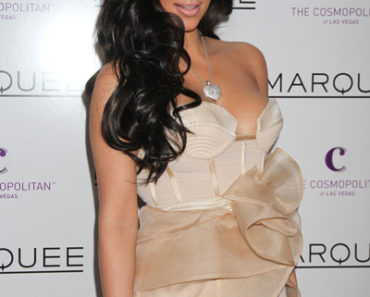Kim Kardashian Hosts Valentine's Day at Marquee Nightclub in Las Vegas on February 14, 2011