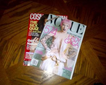 Gaga on Vogue