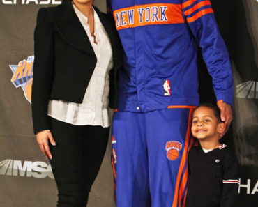 2011 NBA - New York Knicks Press Conference Introducing Carmelo Anthony and Chauncey Billups - February 23, 2011