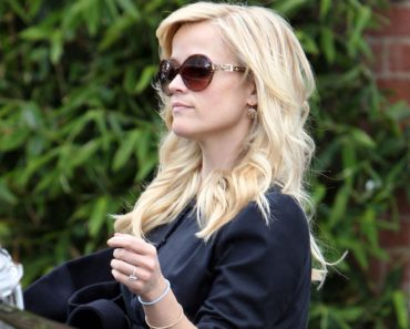 Reese Witherspoon Shows Off Wedding Ready Hair