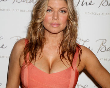 Fergie 36th Birthday Bash at the Bank in Las Vegas on March 25, 2011