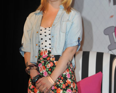 "Kelly Osbourne Launches Madonna's ""Material Girl"" Clothing Line at Macy's in Beverly Hills on March 24, 2011"