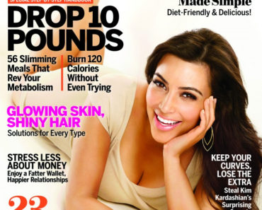 Kim K on Self Magazine