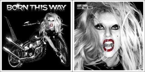 Check Out Lady Gaga's 'Born This Way' Album Covers