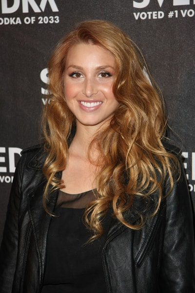 lauren conrad hair color 2010. honey toned hair color.