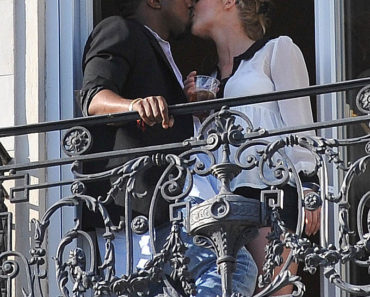 Kanye West Gets Steamy On The Balcony Of His Hotel In Cannes