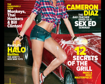 Cameron Diaz on Maxim