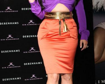 "Kim Kardashian Launches Her New Fragrance ""Kim Kardashian"" at Debenhams in London on June 8, 2011"