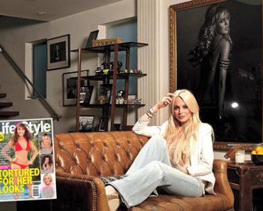 Lindsay Lohan Life & Style Magazine