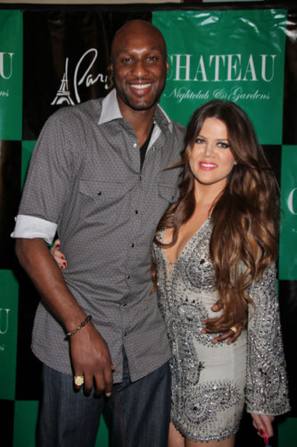Khloe Kardashian 27th Birthday Celebration at Chateau Nightclub in Las Vegas on June 17, 2011