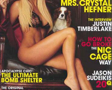 Crystal Harris on Playboy