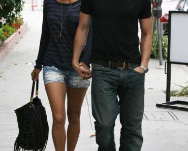 Halle Berry & Boyfriend Olivier Martinez Have Lunch In LA
