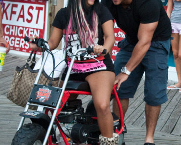 "MTV's ""Jersey Shore"" Filming on Location in Seaside Heights on July 22, 2011"